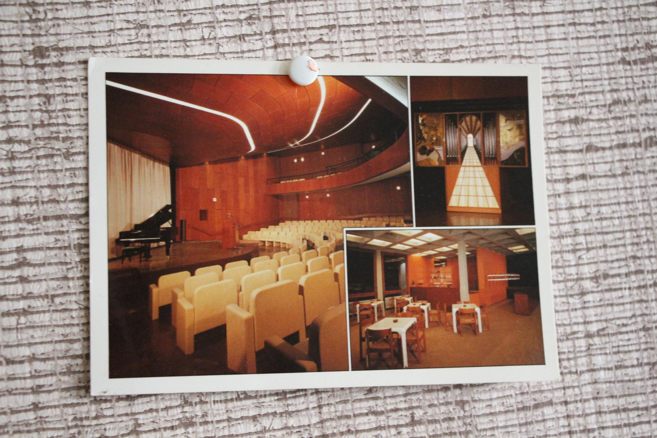 Konzertsaal historisch