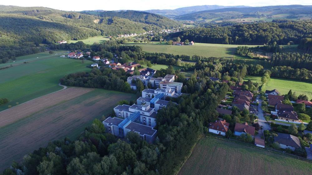 Ein Überblick vom Campus Wienerwald
