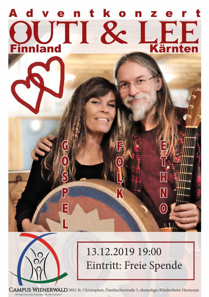 Plakat Adventkonzert 20191213