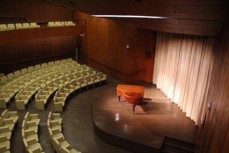 Konzertsaal von oben